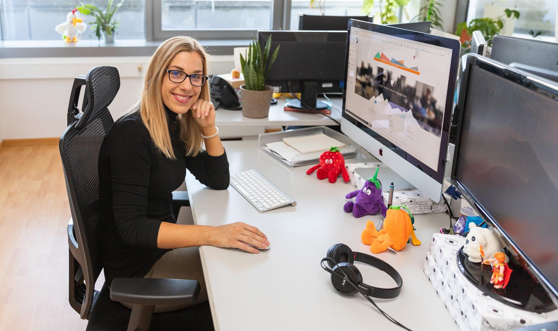 "Polaris Media GmbH - Unsere Räumlichkeiten ""Personalisierte Arbeitsplätze"""